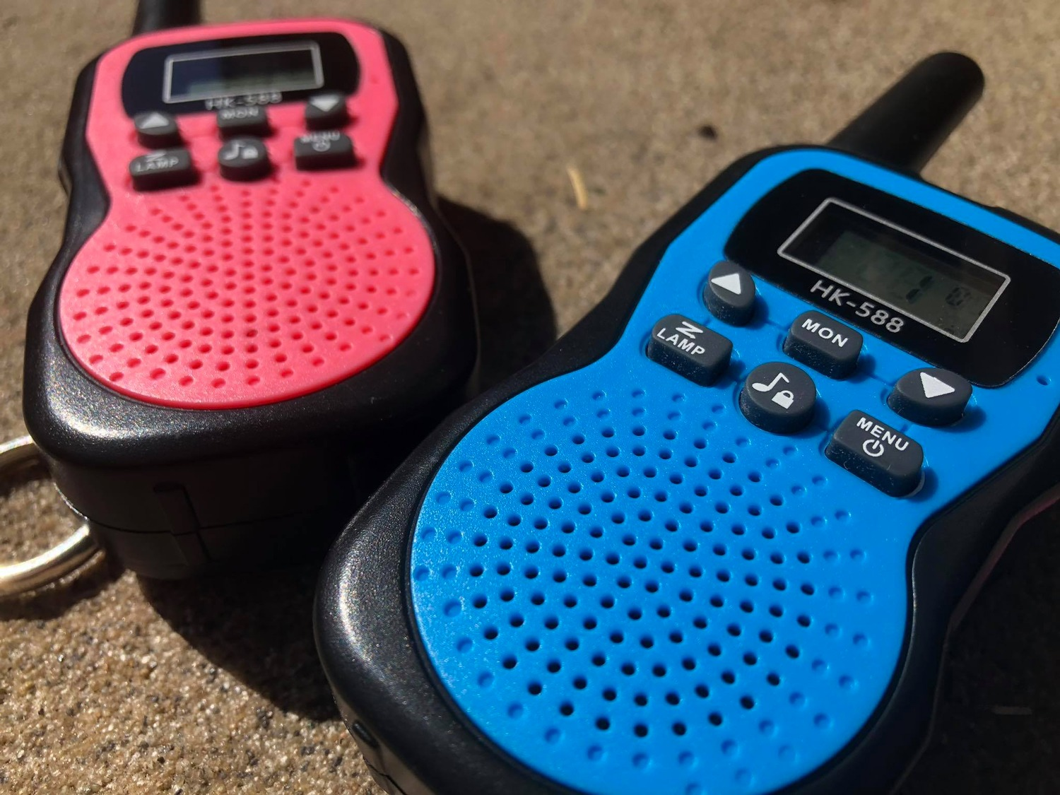 Walkie-Talkies für Kinder, MIBOTE Walkie-Talkies für Kinder im 3er-Set im Test